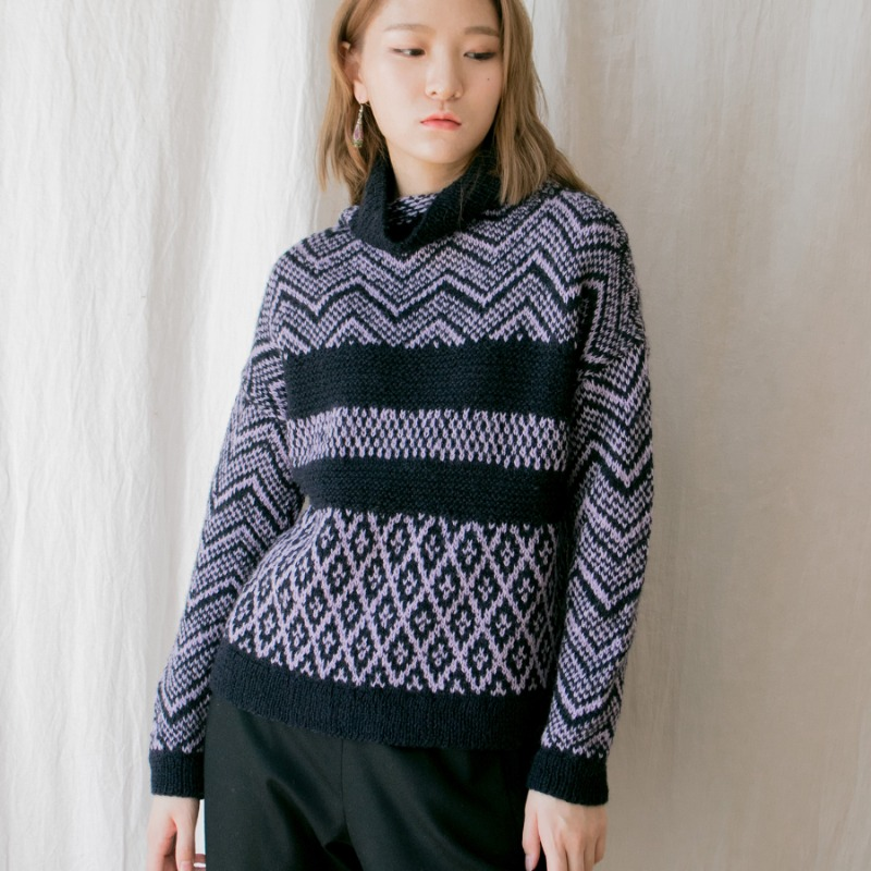 HIMAL KNIT PULLOVER